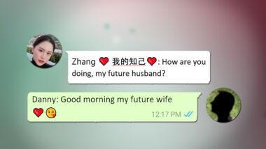 dating oplichting