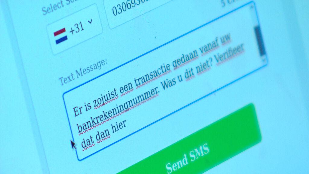 phishing sms versturen