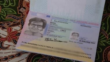 paspoort vliegen