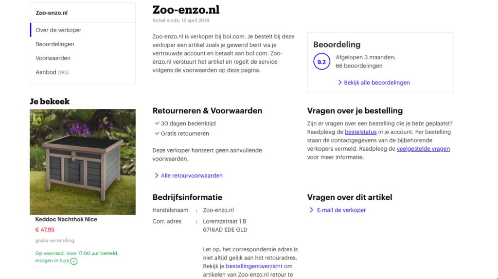 verkoper bol.com
