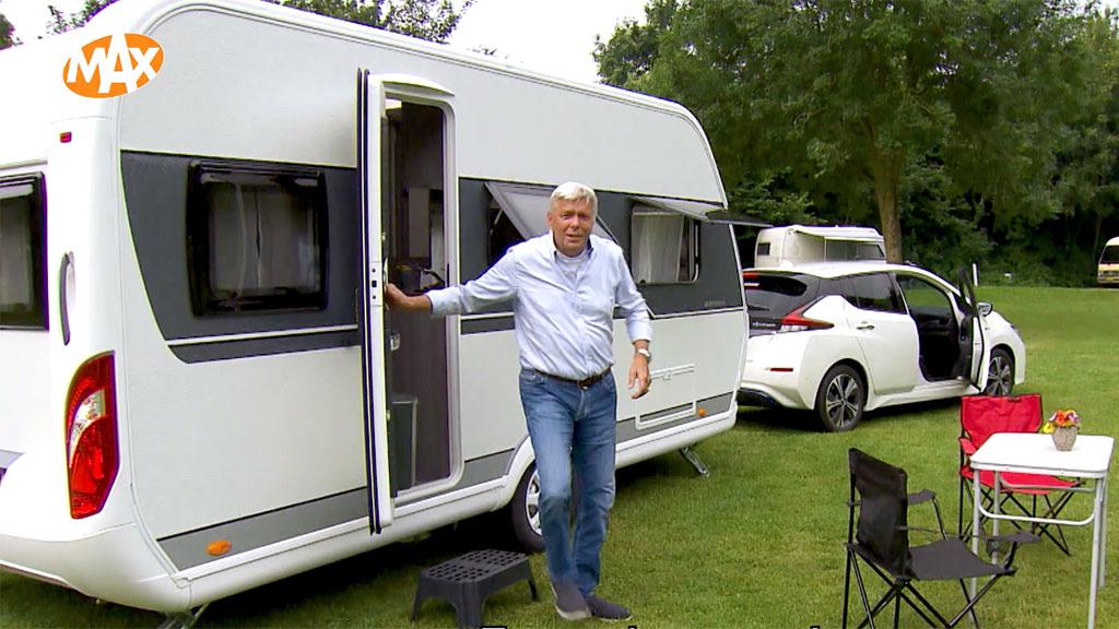 caravan elektrische auto