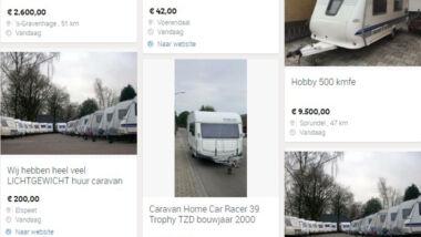 caravan oplichting
