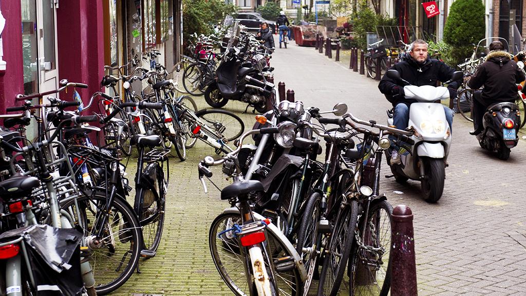 fiets op straat