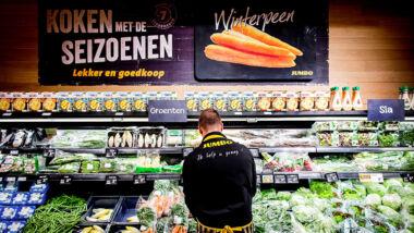 indeling supermarkten
