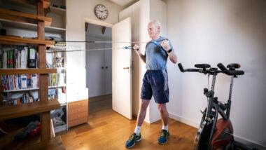 stress corona beweging ouderen