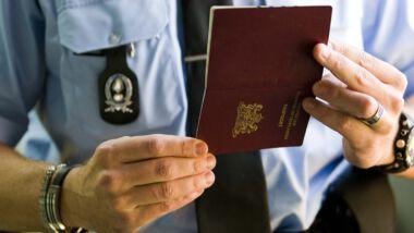 QR-code komt op de achterkant van het identiteitsbewijs