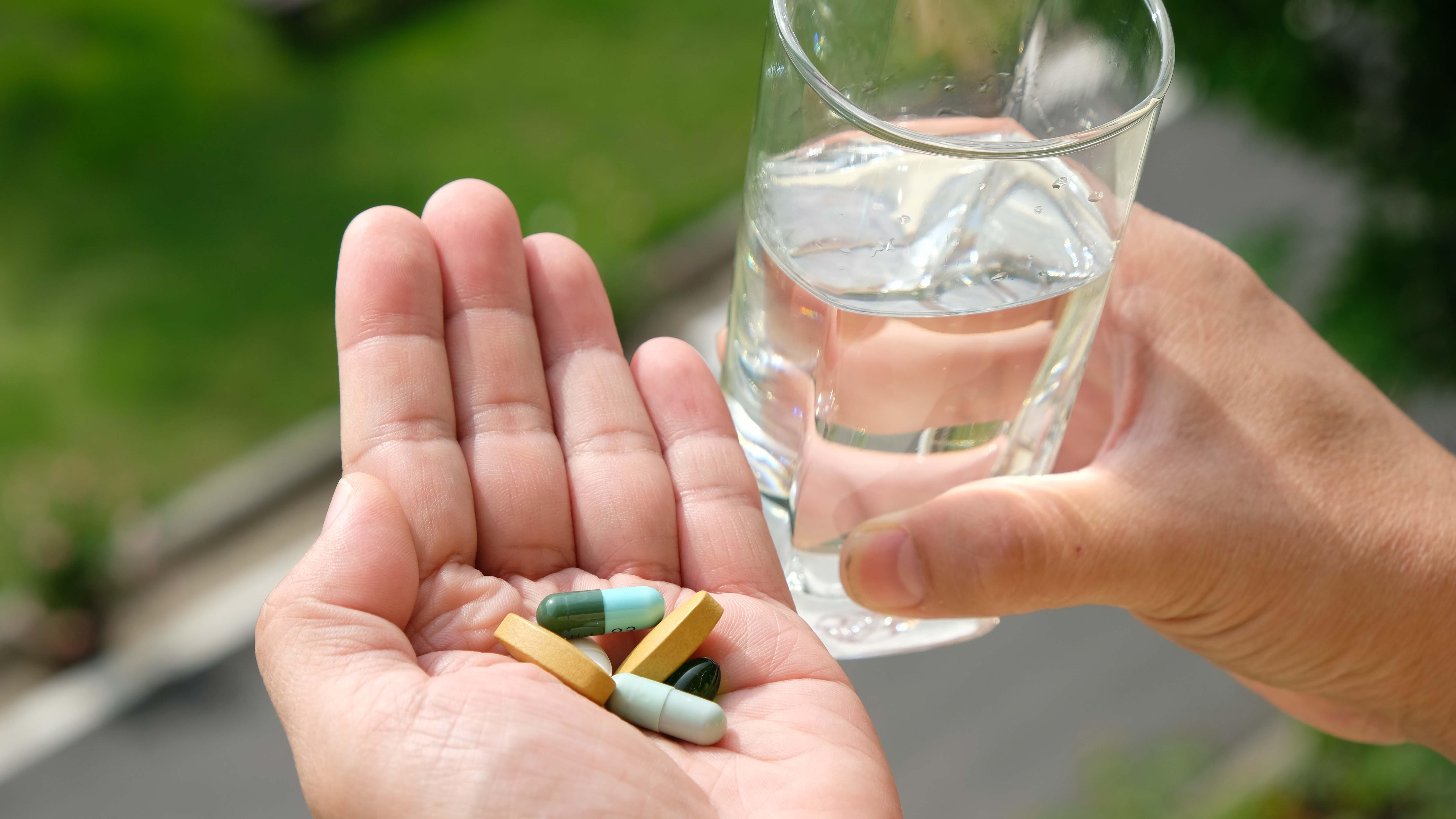 medicijnen slikken