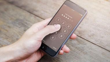telefoon beveiligen