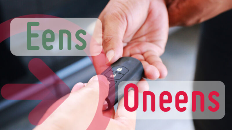 valet parkeren sleutel afgeven veilig