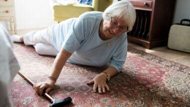 vallen senioren ouderen