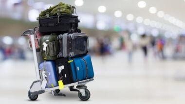 vliegveld bagage