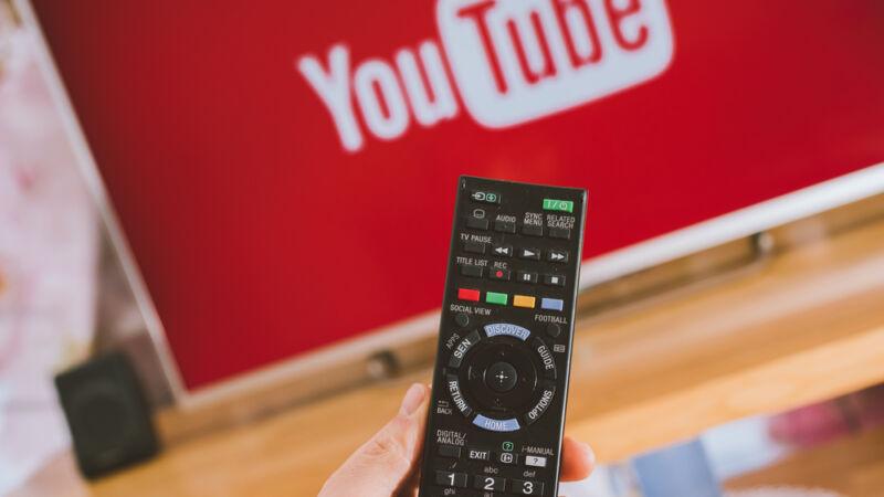 youtube niks op tv